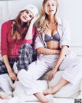 Victoria Secret Catalogue 2015 - Models Candice Swanepoel Behati Prinsloo