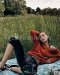 Vogue France August 2015 - Model Julia Bergshoeff